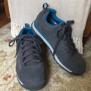 The North Face ortholite suede men sneakers size 9